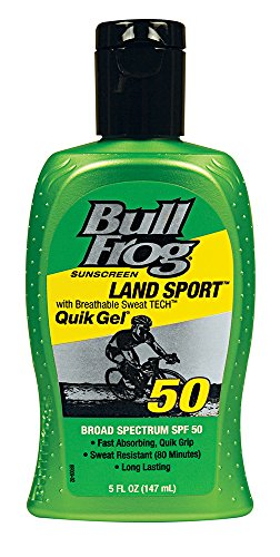 BullFrog Land Sport Quik Gel Sunscreen, SPF 50, 5 ()