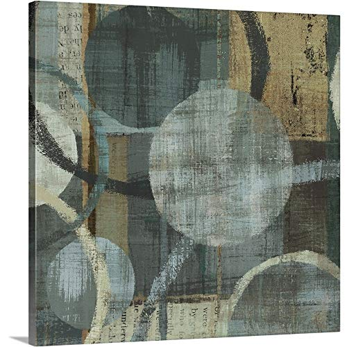 (GREATBIGCANVAS Gallery-Wrapped Canvas Entitled Metalic Tranquility I by Michael Mullan)