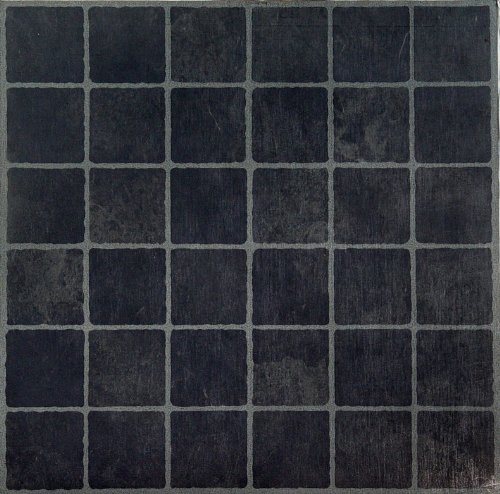 Achim Home Furnishings FTVGM33320 Nexus 12 Inch Vinyl Tile Geo Dark Slate Checker Board 20 Pack