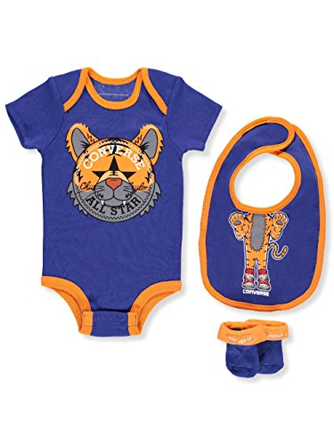 Converse Baby Boys' 3-Piece Layette Set - Hyper Royal, 0-6 Months