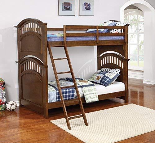 Coaster Home Furnishings 461084 Bunk Bed, Walnut