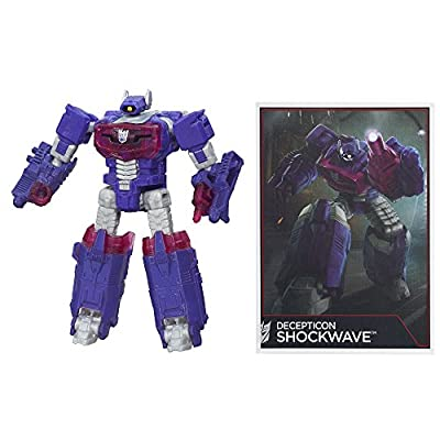 Transformers Generations Combiner Wars Legends Class Shockwave Figure: Toys & Games
