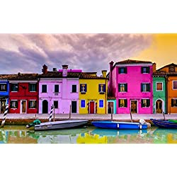 Burano Apartments #8 Poster Print by Richard Desmarais (36 x 22)