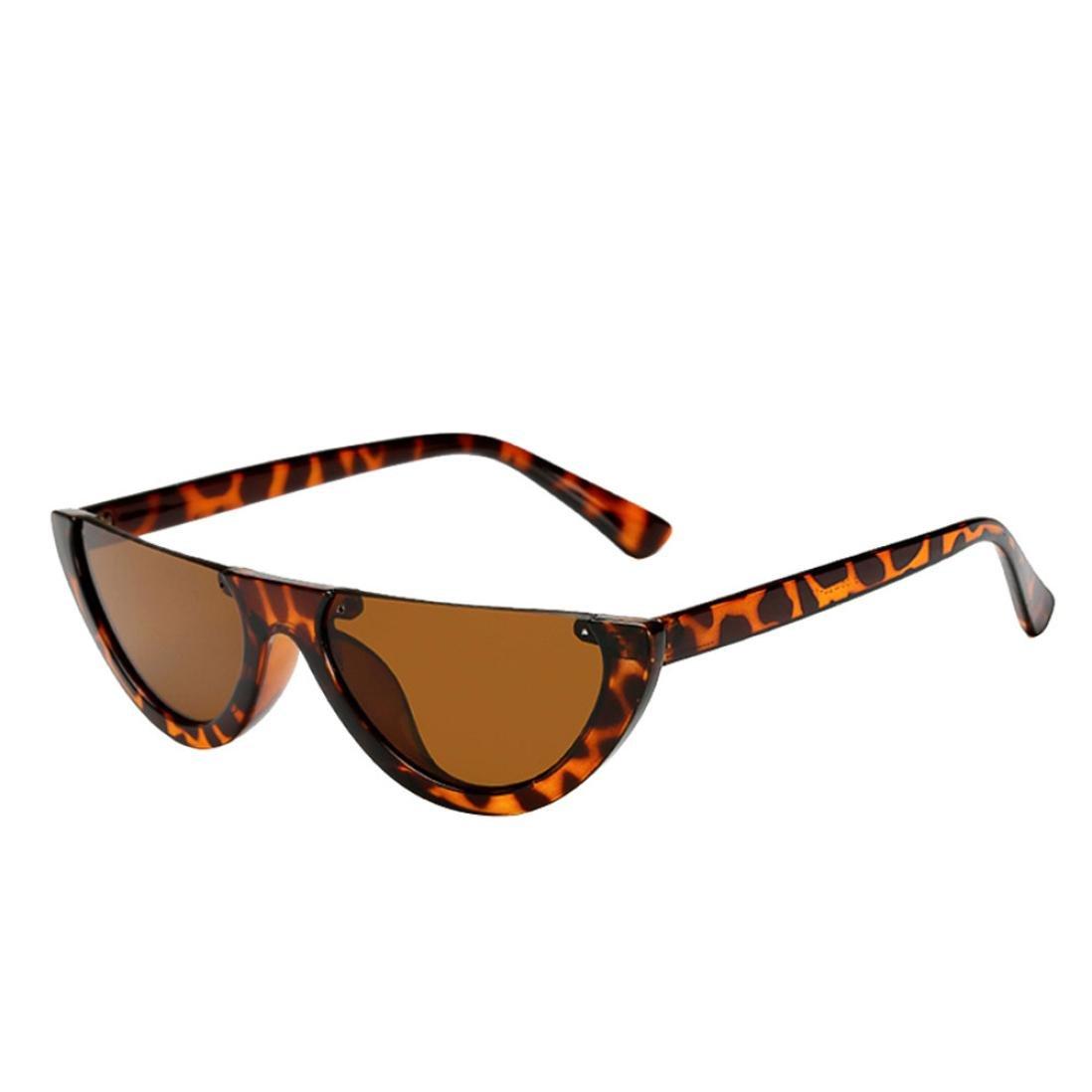 Logobeing Gafas de Sol Femeninas Integradas Del Gafa de Ojos Del Gato Del Marco Vidrios UV Integrados