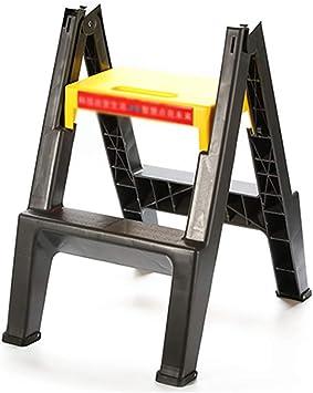 YXX-Taburete escalera Taburete plástico Plegable para el Coche, Escalera Antideslizante Resistente para niños y Adultos, Taburete del baño del huerto: Amazon.es: Electrónica