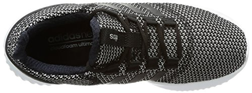 Adidas Black Cloudfoam Donna core core Sneaker Ultimate White Nero Black footwear rFw6Rrq