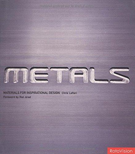Metals: Materials for Inspirational Design (Ron Arad)