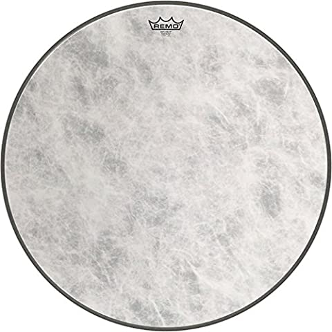 Remo FD1524-00 24-Inch Fiberskyn 3 Diplomat Bass Drum Head (Remo Diplomat Snare Side Head)