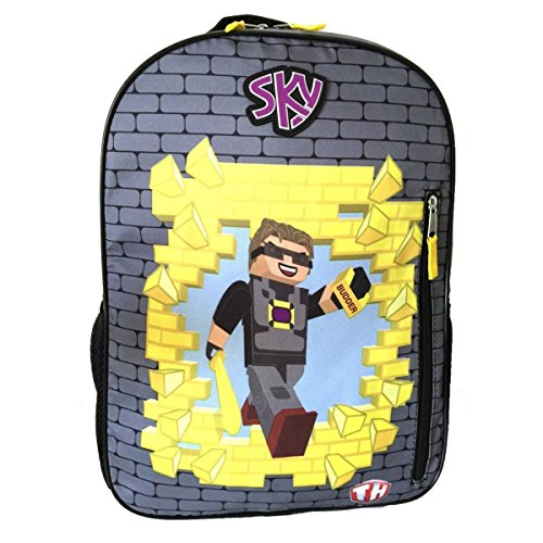 Sky Tube Heroes Backpack 16 inches - BRAND NEW - Licensed Product