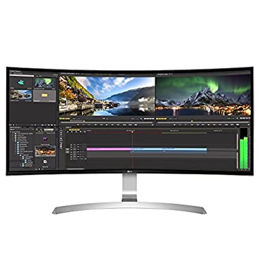 LG 34UC99-W 34 21:9 Curved UltraWide WQHD IPS Monitor with USB Type-C (2017)