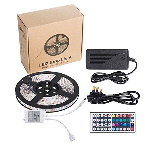Ihomy 16.4ft LED Flexible Strip Lights, 300 Units SMD 5050