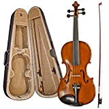 Chase Student 3/4 Size Violin Outfit With Hard Case Rosin Bow Shoulder Straps