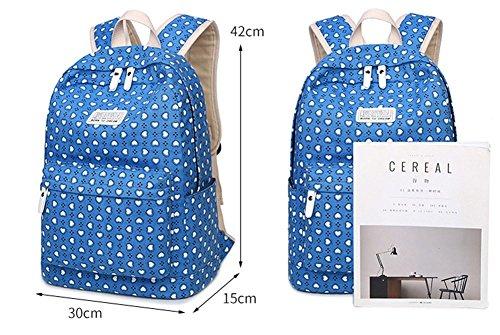 OPSUN - Bolso mochila  para mujer Taille Unique Rose