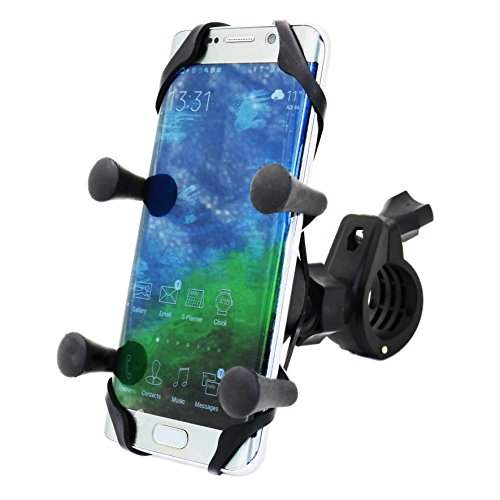 MOTOPOWER MP0609B Bike Motorcycle Cell Phone Mount Holder- For any...