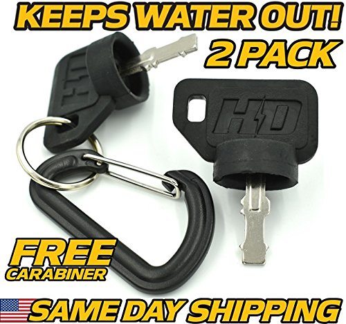 (2 Pack) Bad Boy Mowers Key Set CZT Outlaw Pup Lightning Extreme Maverick AOS MZ ZT - HD - Key Mavericks