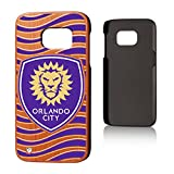 Keyscaper Orlando City Soccer Club Wave Cherry Wood Samsung S7 Case MLS
