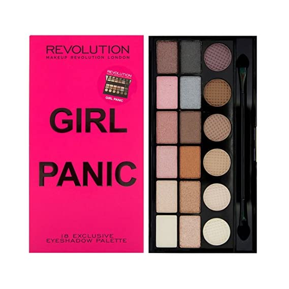 Makeup Revolution London Salvation Palette (Eyeshadow), Girl Panic, 13g