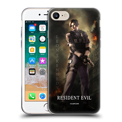 Official Resident Evil Leon S. Kennedy Operation Raccoon City 2 Soft Gel Case for iPhone 7 / iPhone 8 (Resident Evil Operation Raccoon City Best Character)