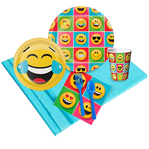 BirthdayExpress Show Your Emojions Party Pack -