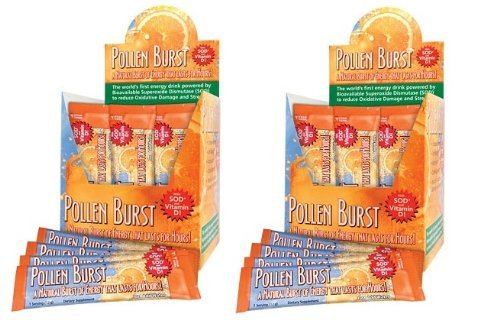 2 Boxes Projoba Pollen Burst Youngevity Energy Drink 30 Servings Per Box (Ships Worldwide) For Sale