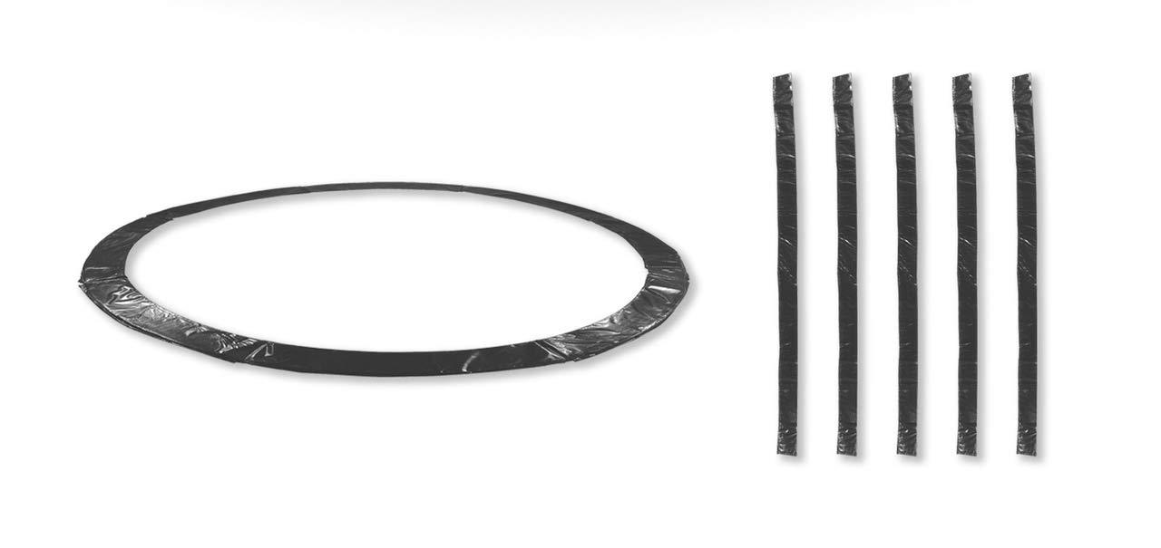 Noir 10FT 6perches JUMP4FUN Accessoires Trampoline Exterieur Deluxe 10FT, 12FT, 13Ft ou 14FT Pack Relooking Choix Couleurs, Tailles et Nombre de Perche