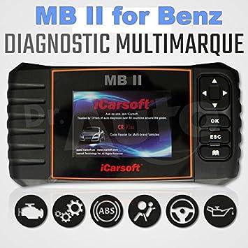 iCarsoft MB II OBD2 Reset Scan Tool For Mercedes Benz Sprinter Car Code  Reader
