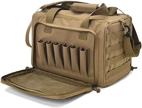 Tactical Deluxe Pistol Shooting Duffle product image