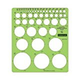 Staedtler Combo Circle Template 977 110
