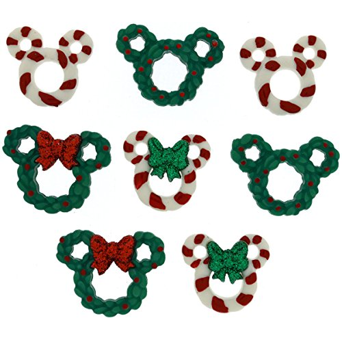 - Dress It Up 8237 Disney Button & Embellishments, Wreaths & Canes