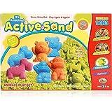 Ekta Toys Active Sand Model Animals Play Kit