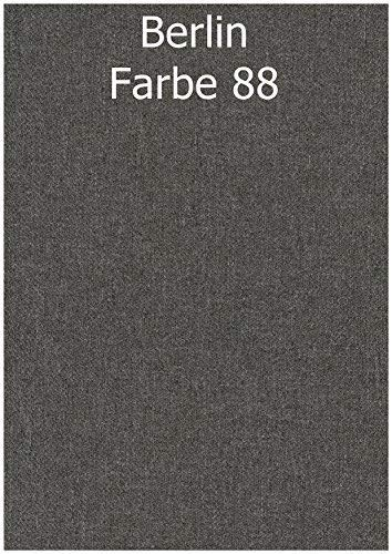 cojín, Silla FUNDA 100% poliéster, relleno 100% PU (espuma) tamaño 41/46 x 44 x 5cm DIFERENTES COLORES - 88b GRIS CLARO, 41/46 x 44 x 5cm