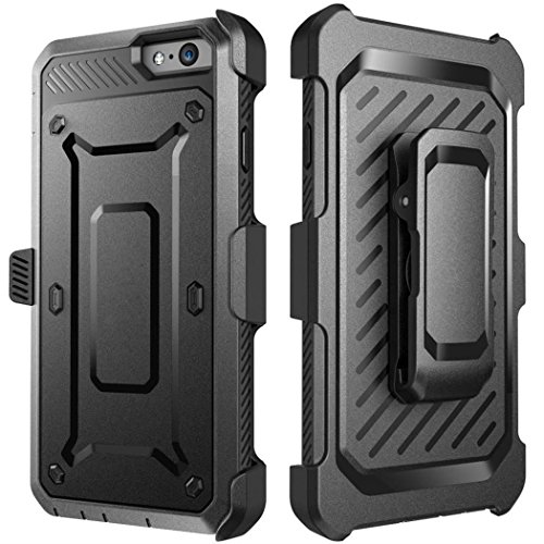 iPhone 7 Case,iPhone 8 Case[Screen Protector][Full Body][Heavy Duty Protection ][Locking Belt Swivel Clip] Shock Reduction/Bumper Case for 4.7 inch iPhone 7 /iPhone 8 (Black) by GGTT-YP (Image #3)
