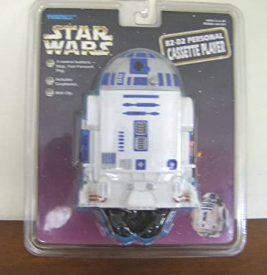 Star Wars R2-d2 Personal Cassette Player by Tiger Electronics