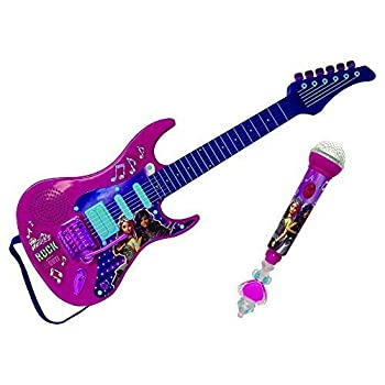 Barbie Rock 'N Royal Movie Toy Electric Guitar With Microphone 0