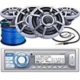 Best Clarion Car Stereo Systems - Clarion M205 Marine Audio Single-DIN Stereo Receiver, 4 Review
