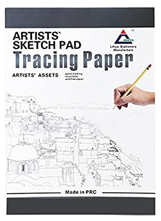 A4 Size Tracing Paper Pad 35 Sheets 83 X 115 Inch By Tikteck