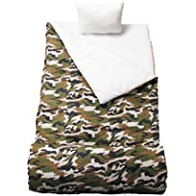 SoHo kids Camouflage children sleeping slumber bag with pillow and carrying case lightweight foldable for sleep over