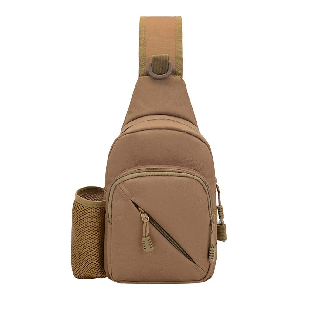 Bohelly Crossbody Bags Selling Dream Room Men Outdoor Students Sport Pure Color Nylon Messenger Bag Chest Bag Phone Bag