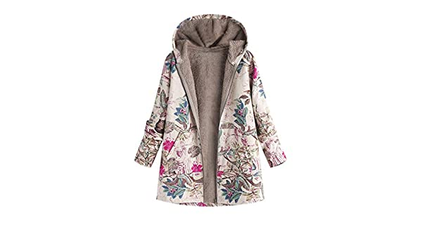 Amazon.com: Hooded Warm Oversize Parka Femme Jacket: Clothing
