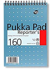 Pukka Pad PP00121 80gsm Reporters Shorthand Notebook- Pack of 3