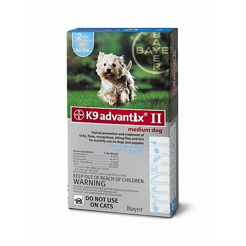 ADVANTIX II Dog Medium 2pk
