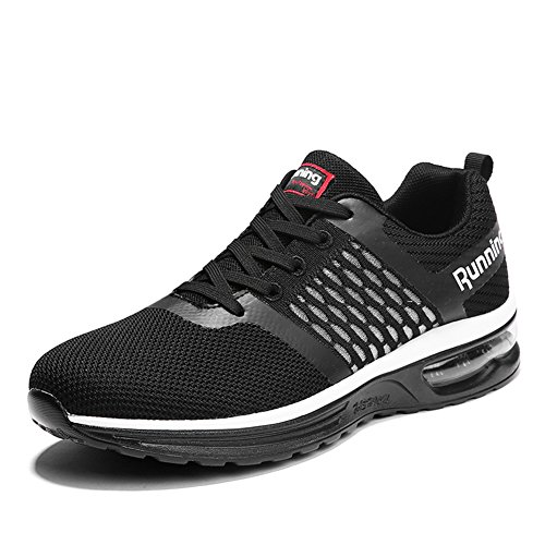 Shoes Air Running Sneakers Black Men's Jogging Sport Cushion Outdoor Women's xOgwnR1a8q