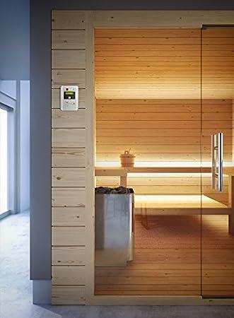 grandform Bio Sauna Sauna Finlandés Estufa Eléctrica Bio Pro 2520 (cm). 250 x 250 x 208 H.): Amazon.es: Hogar