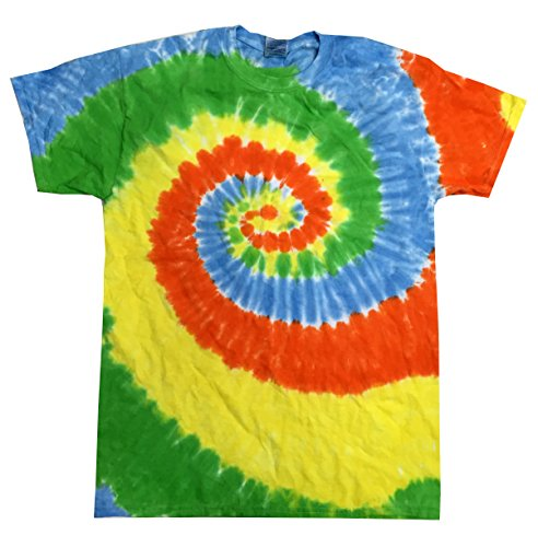 Colortone Tie Dye T-Shirt XL Spring Time (Big Time T-shirt Youth)