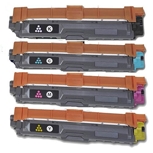 HQ Supplies Compatible Replacement for Brother TN225 TN221 Toner Set, TN221BK TN225C TN225Y TN225M for Brother DCP-9020CDN HL-3140CW HL-3150CDN HL-3170CDW MFC-9130CW MFC-9330CDW MFC-9340CDW Printers