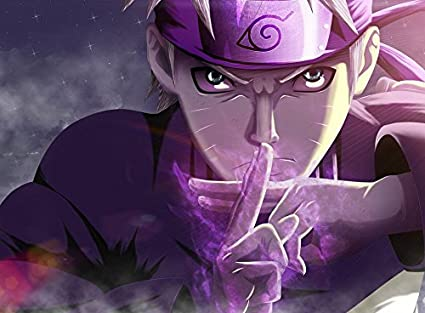 Amazon Com Xxw Artwork Naruto Shippuden Poster Uzumaki