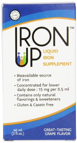 Yasoo Health Ironup Liquid Iron Supplement, 2 Ounce (Iron Supplements For Kids That Taste Good)