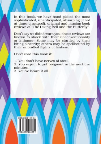 100 Things You Don't Wanna Know about the Diving Bell and the Butterfly