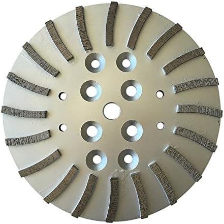 MK Husqvana Grinders 25//30 Grit Concrete Floor Grinding Head for Edco Blastrac