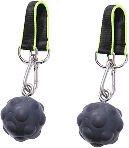 Hand Grips Strength Trainer Exerciser for Bouldering letsgood Climbing Pull Up Power Ball Hold Grips Fitness Kettlebells Workout Pull-up